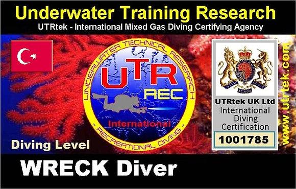 REC Wreck Diver