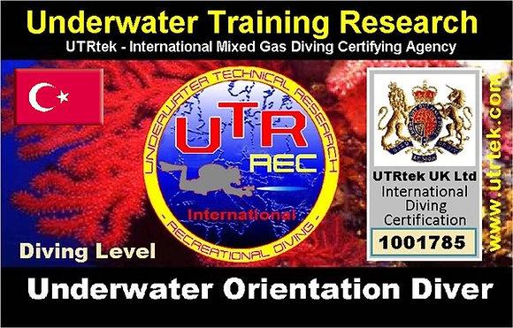 Orientation Specialty Diver