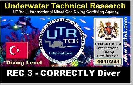 REC 3 Helitrox Correctly Diver