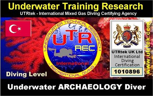 Underwater Archaeology Diver