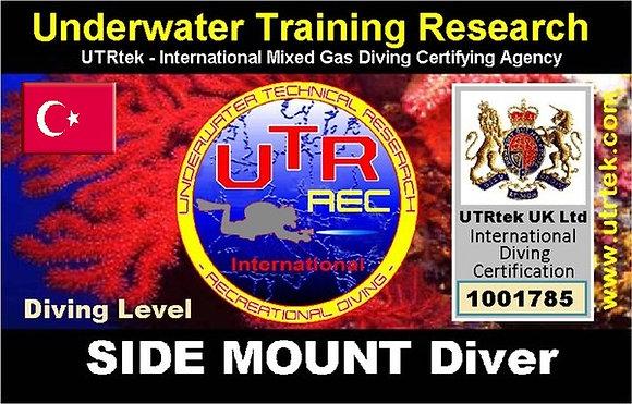 REC Side Mount Diver