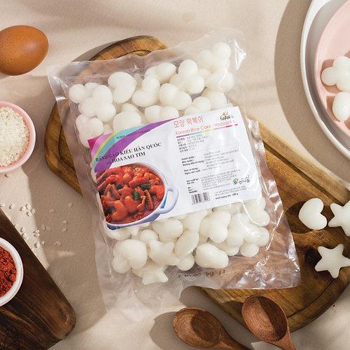 Bánh Gạo Kiểu Hàn Quốc Hình Hoa Sao Tim