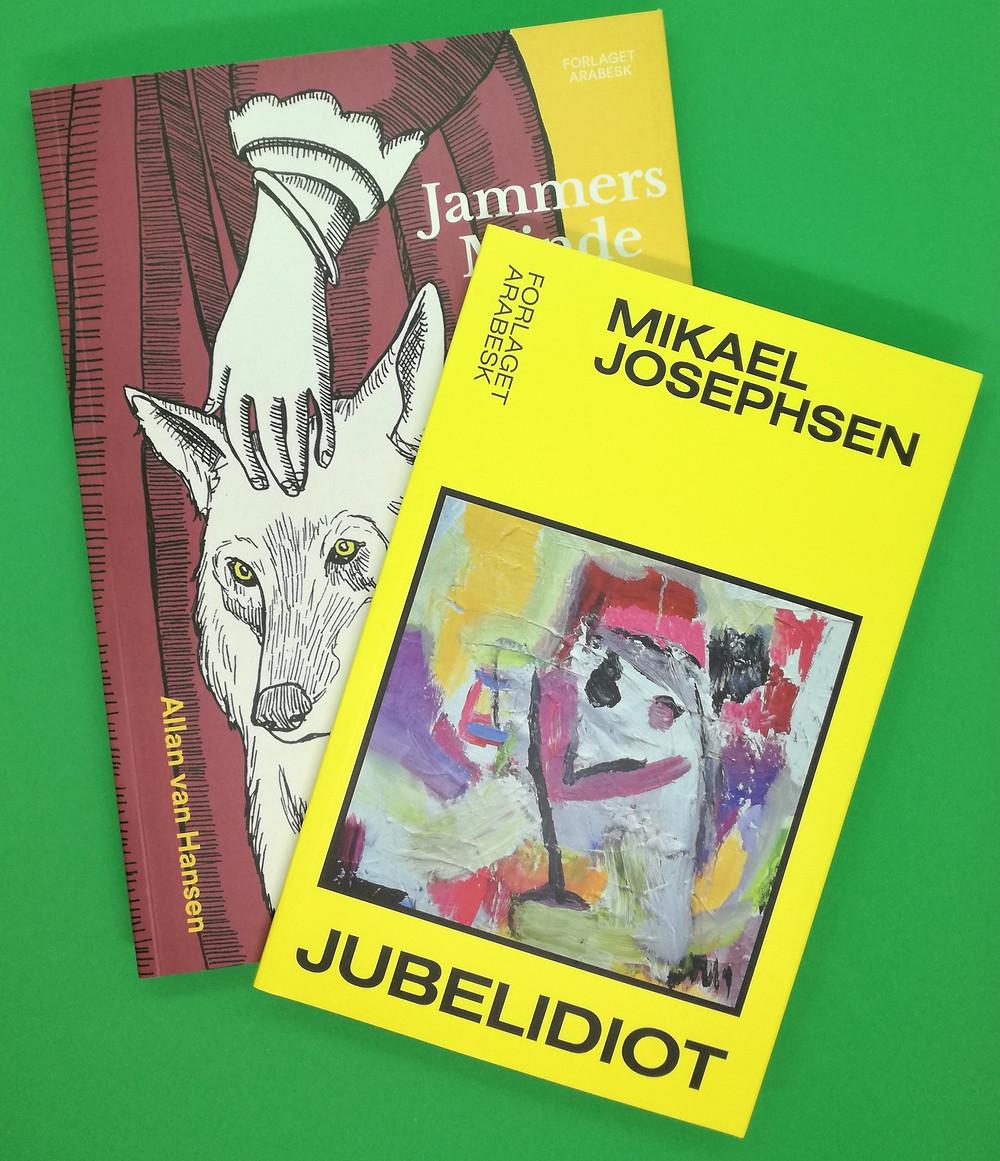 Mikaels Josephsens Jubelidiot og Allan van Hansens Jammers Minde er blandt Litteratursidens anbefalinger som årets bedste bøger