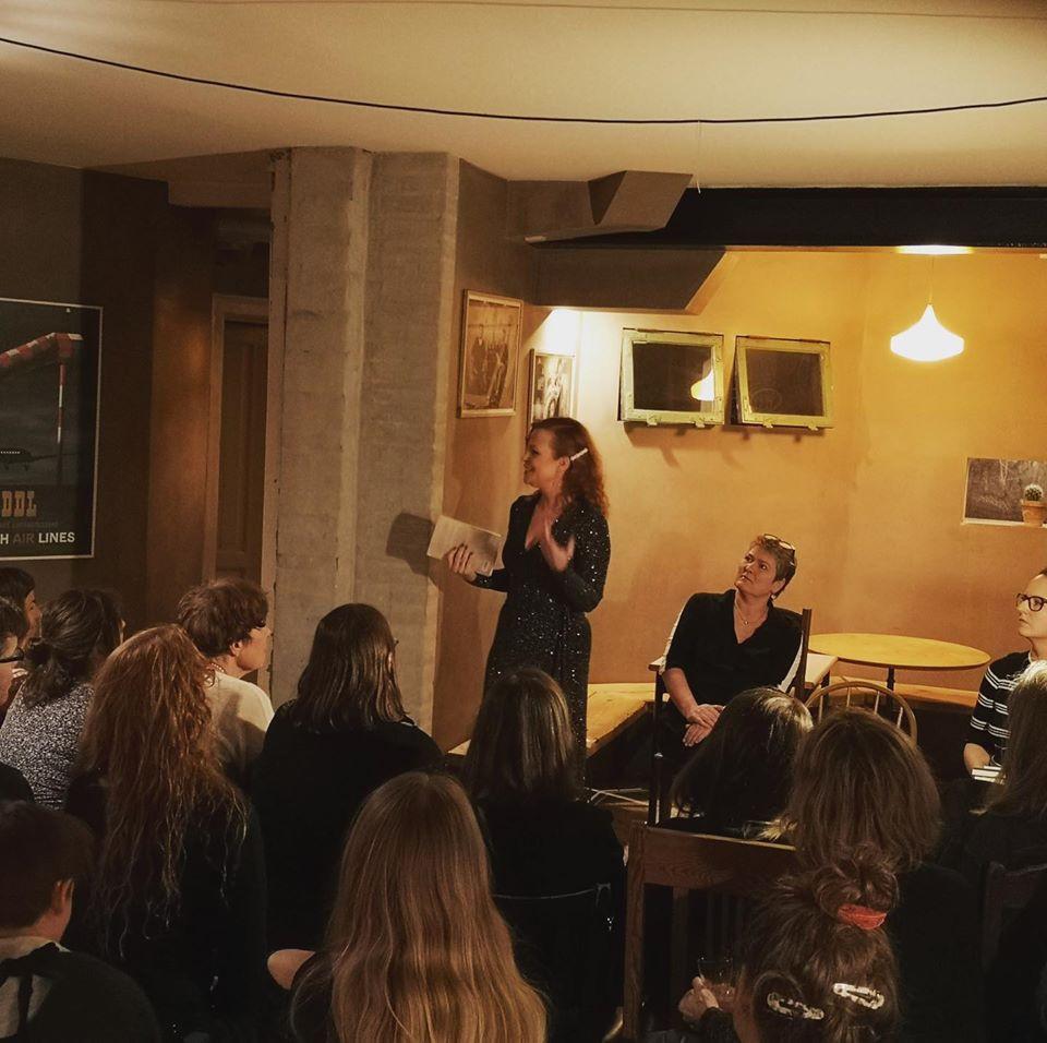 """Karen Fastrup fortæller om """"Hungerhjerte"""" til vores første arrangement på Gonzo: """"Syg i Roen"""""""