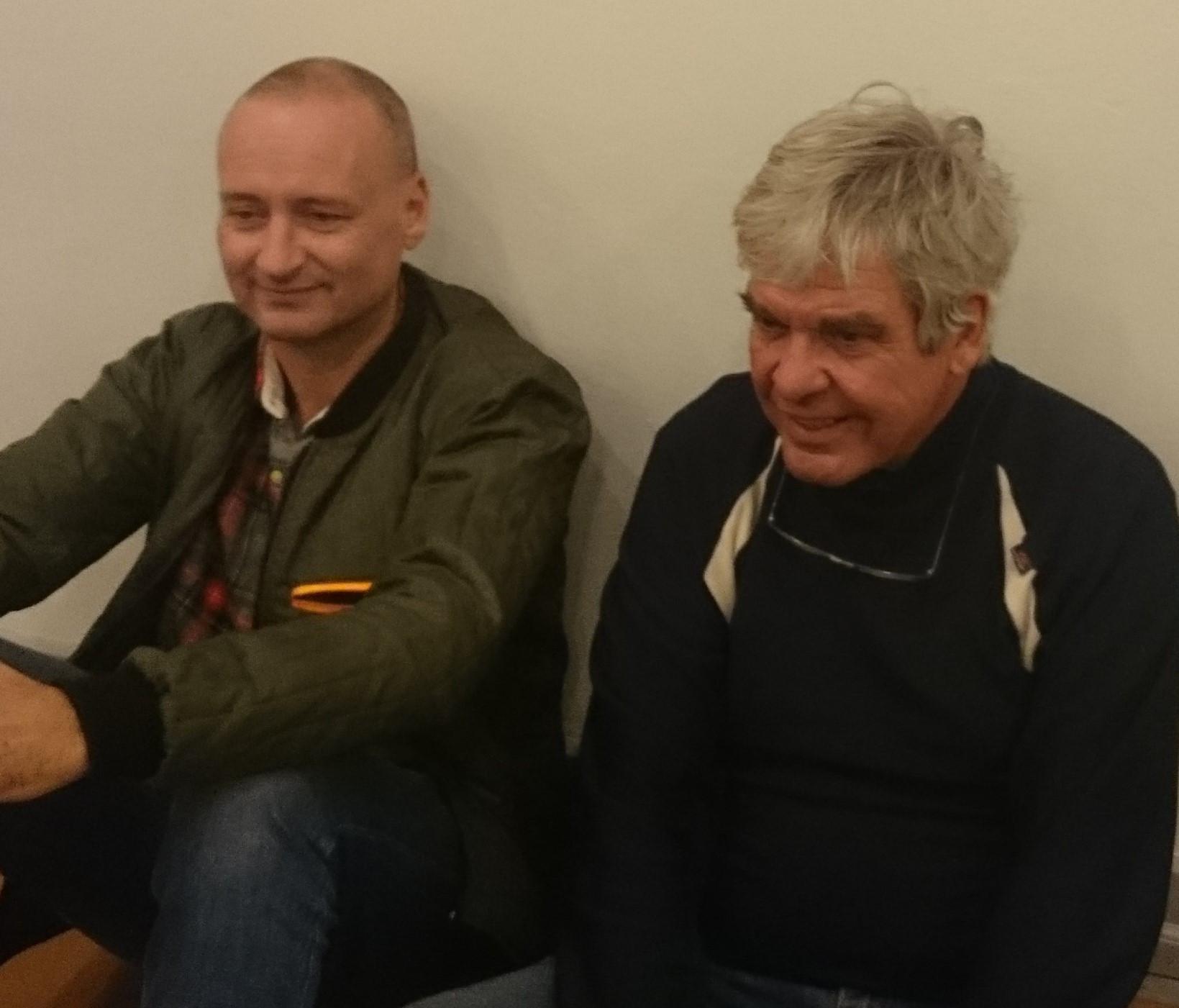 Ib Michael og Thomas Boberg