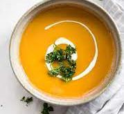 Autumn Harvest: Sweet Potato Soup by Stacy H.