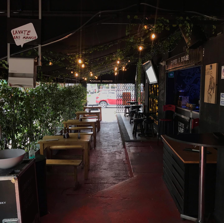 cafe teatro restaurante late live