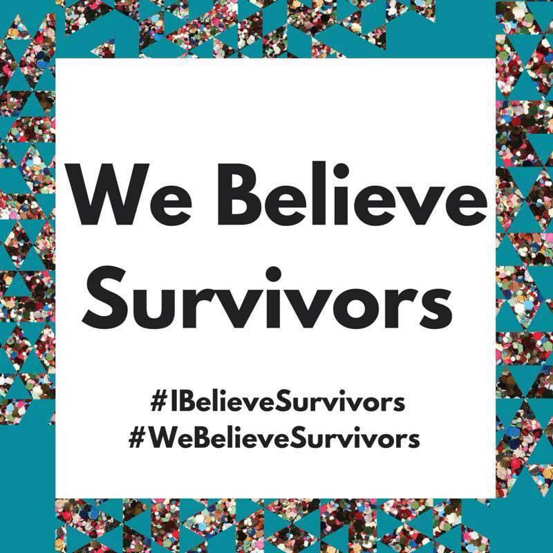 #metoo #webelievesurvivors #believevictims