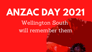 Wellington South Anzac Day Service - 9.30am, 25 April at Island Bay School
