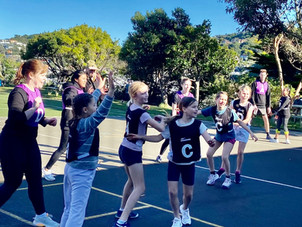Netball was the winner on the day!