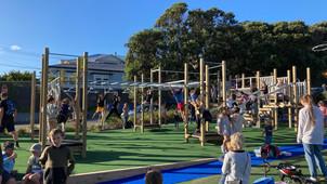 New playground opening