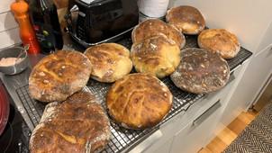 Bread making is a hit!