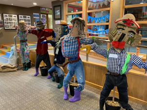 Scarecrows for Island Bay New World
