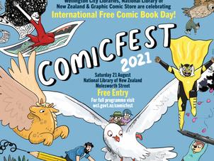 Wellington City Libraries: ComicFest 2021!