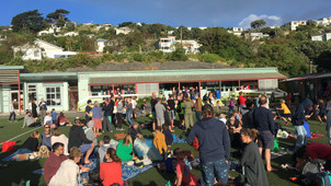 Rainbows, rain and some great dance moves at the Whānau Picnic!