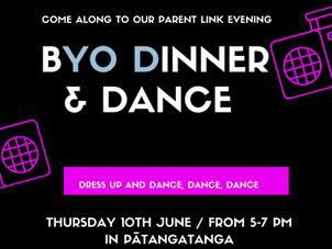 Pātangatanga & Manaia Dinner & Dance - Thurs 10 June, 5-7pm