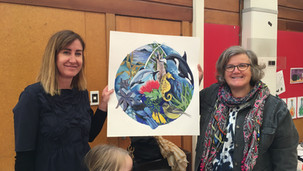 Thank you assembly for our Artist in Residence, Margaret Tolland