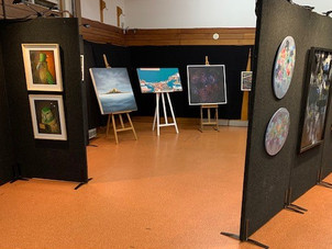 Important Art Show and Auction information. Starts from 4pm tomorrow in the school hall!