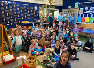 Celebrating 100 days at School! Teaching place value