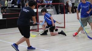 Nail-biting floorball finals!