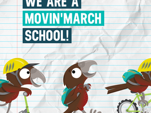 It's nearly Movin' March!