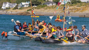 The Raft Race is back at the Island Bay Festival in 2021!
