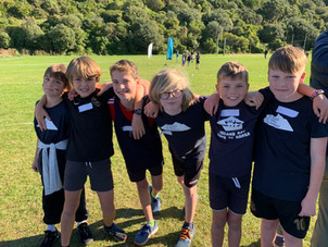 A perfect day for Southern Zone Cross Country!