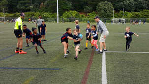 A great season of Island Bay School Touch Rugby