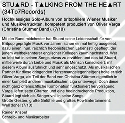 STU▲RD REVIEW Rainer Krispel Sept. 2013.