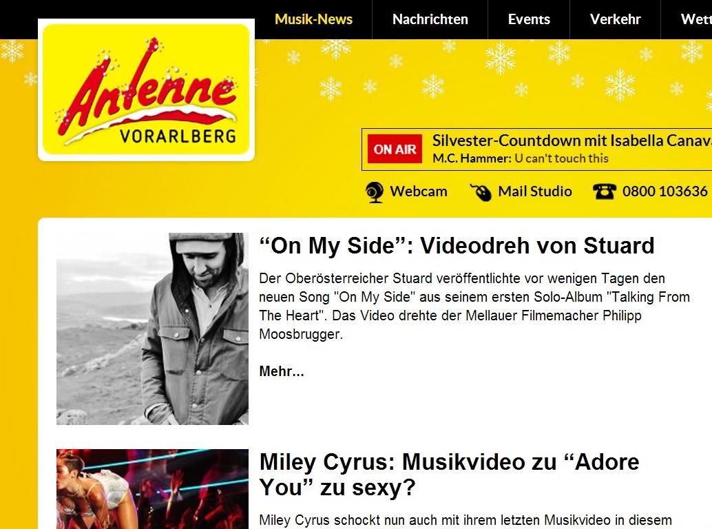 STU▲RD VIDEO AntenneVbg 05.12.2013