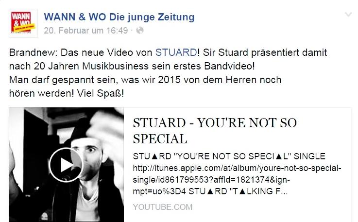 STU▲RD VIDEO Wann&Wo 20.02.2015