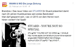 STU▲RD VIDEO Wann&Wo 20.02.2015