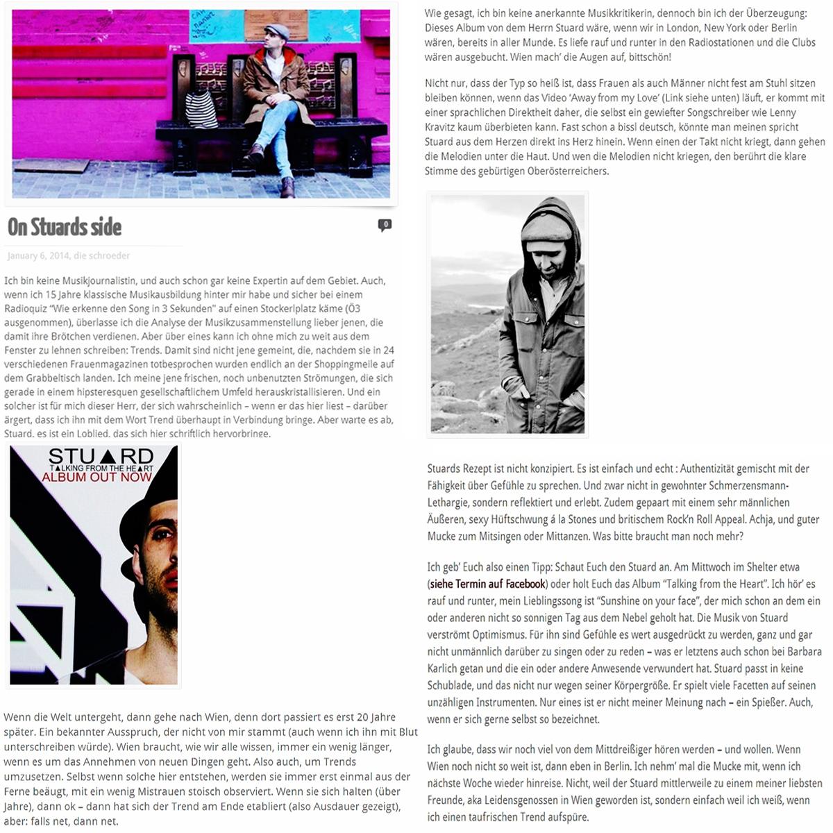 STU▲RD INTERVIEW DieSchröder 06.01.2014.
