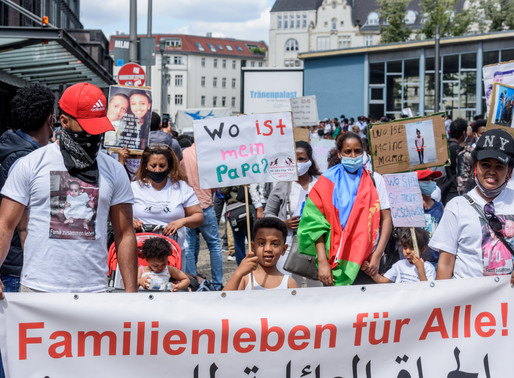 Black Families Matter: Refugees protest for right to be reunited with loved ones