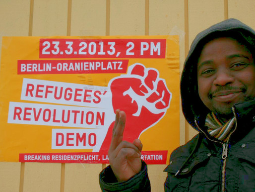 Solidarity call: Berlin activist faces charges