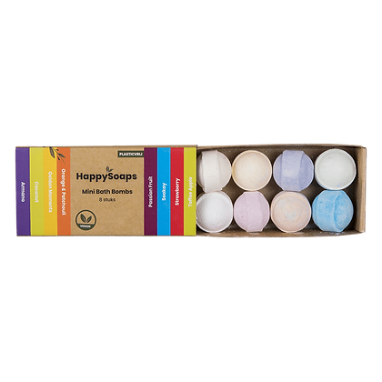 HAPPY SOAPS Bath Bombs Tropical Sweets