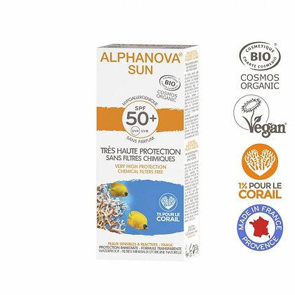 ALPHANOVA Adults Zonnecrème SPF50 (Allergisch-gevoelige huid)