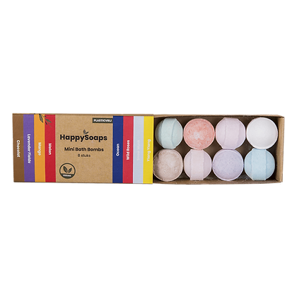 HAPPY SOAPS Bath Bombs Herbal Sweets