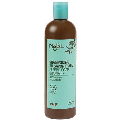 NAJEL Aleppo Olijfzeep Shampoo (vet haar)
