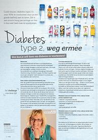 Diabetes typ 2, weg ermee