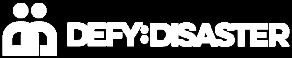 Defy Disaster Full Logo - Digital - RGB