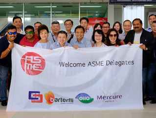 SMEs from diverse industries join the ASME Laos Business Mission 2017