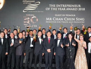 Two local entrepreneurs named Overall Winners of The Entrepreneur of the Year Award; four entreprene