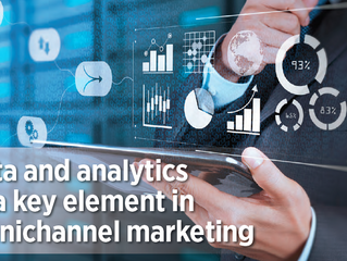 Data and analytics as a key element in omnichannel marketing