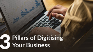 The 3 pillars of digitising your business and how much time and money you can be saving