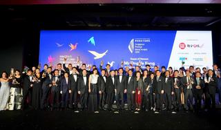 Familiar homegrown brands shine at the 17th Singapore Prestige Brand Award