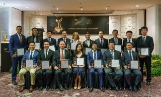 Striking Gold in Entrepreneurship: 18 business leaders named The Entrepreneur of the Year 2018