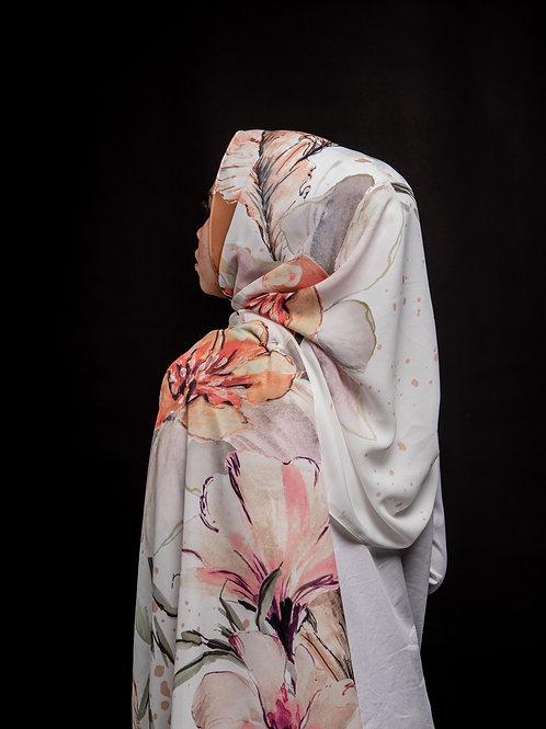 Winter fleur -White