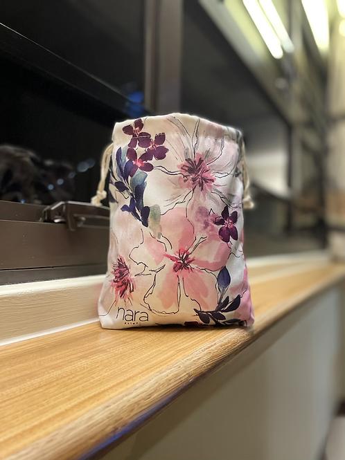 Bucket Bag : Gerbera Daisy White