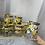 Thumbnail: 02 Glass jar set of 6 w Gold holder
